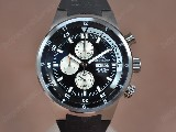 IwcCousteauDiversSS/RUBlackDialJapOS11石英錶